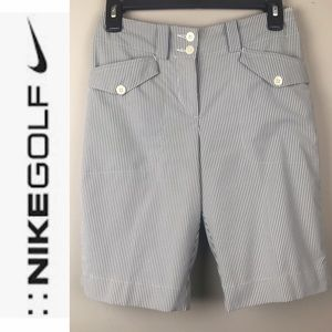 Nike Golf Shorts pin striped size 2